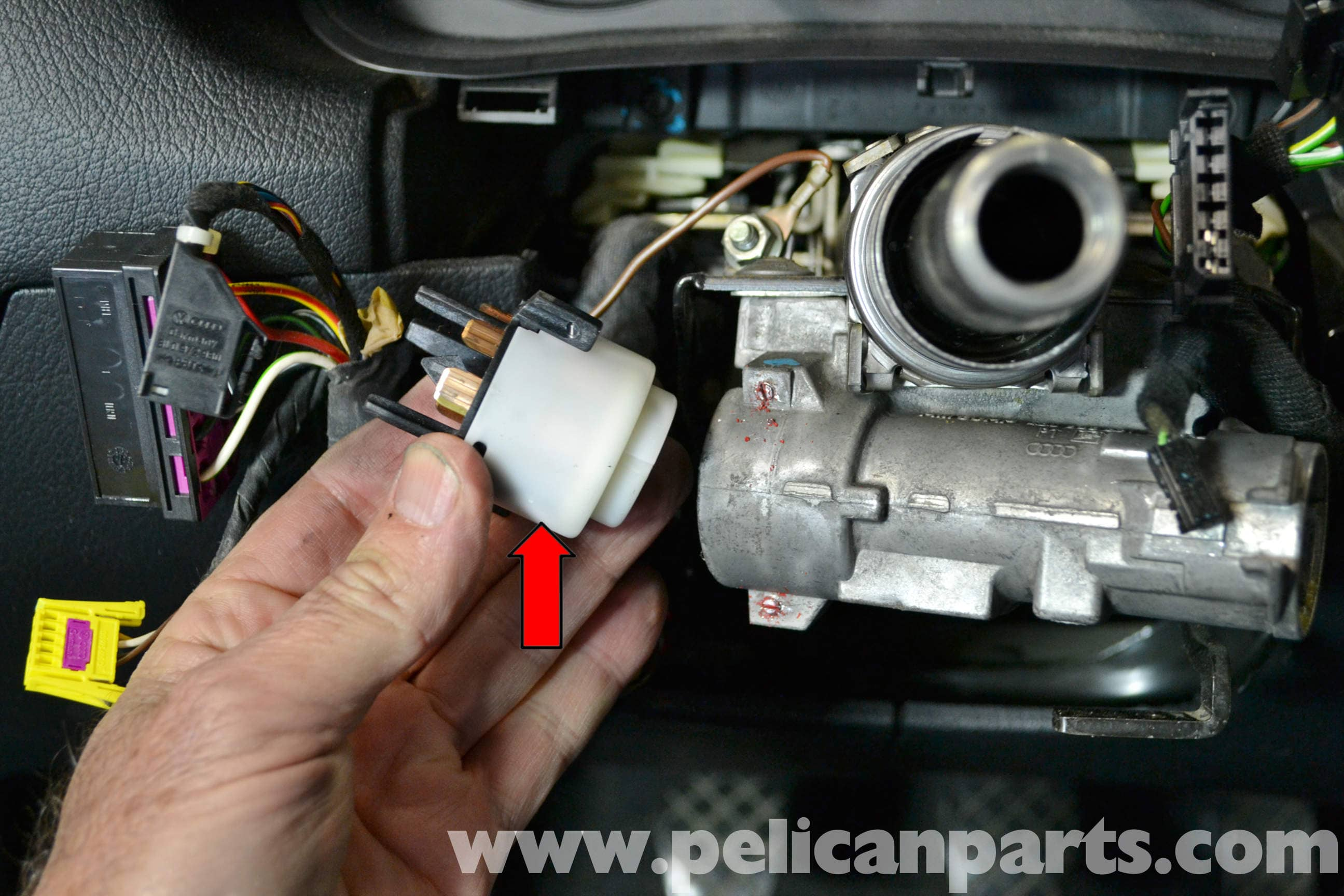 Skoda Octavia Door Lock Problems Audi A4 B6 Ignition Switch And Lock Cylinder Replacement