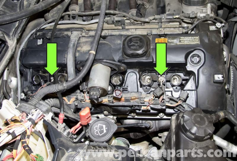 BMW E60 5-Series Valve Cover Gasket Replacement (NG6 Engine