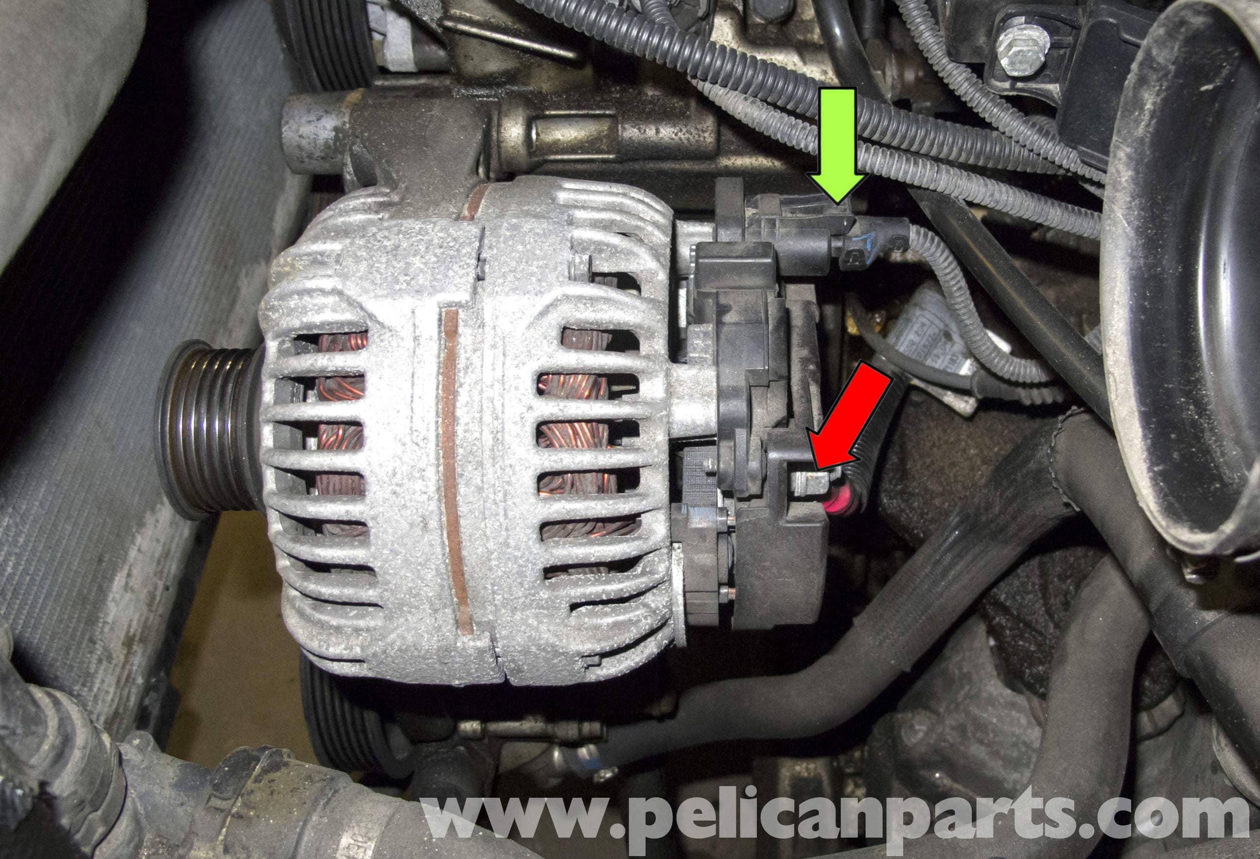 bmw 5 series alternator wiring