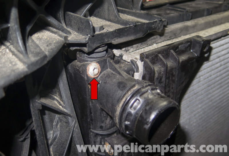 Pelican Technical Article - BMW-X3 - Radiator Replacement