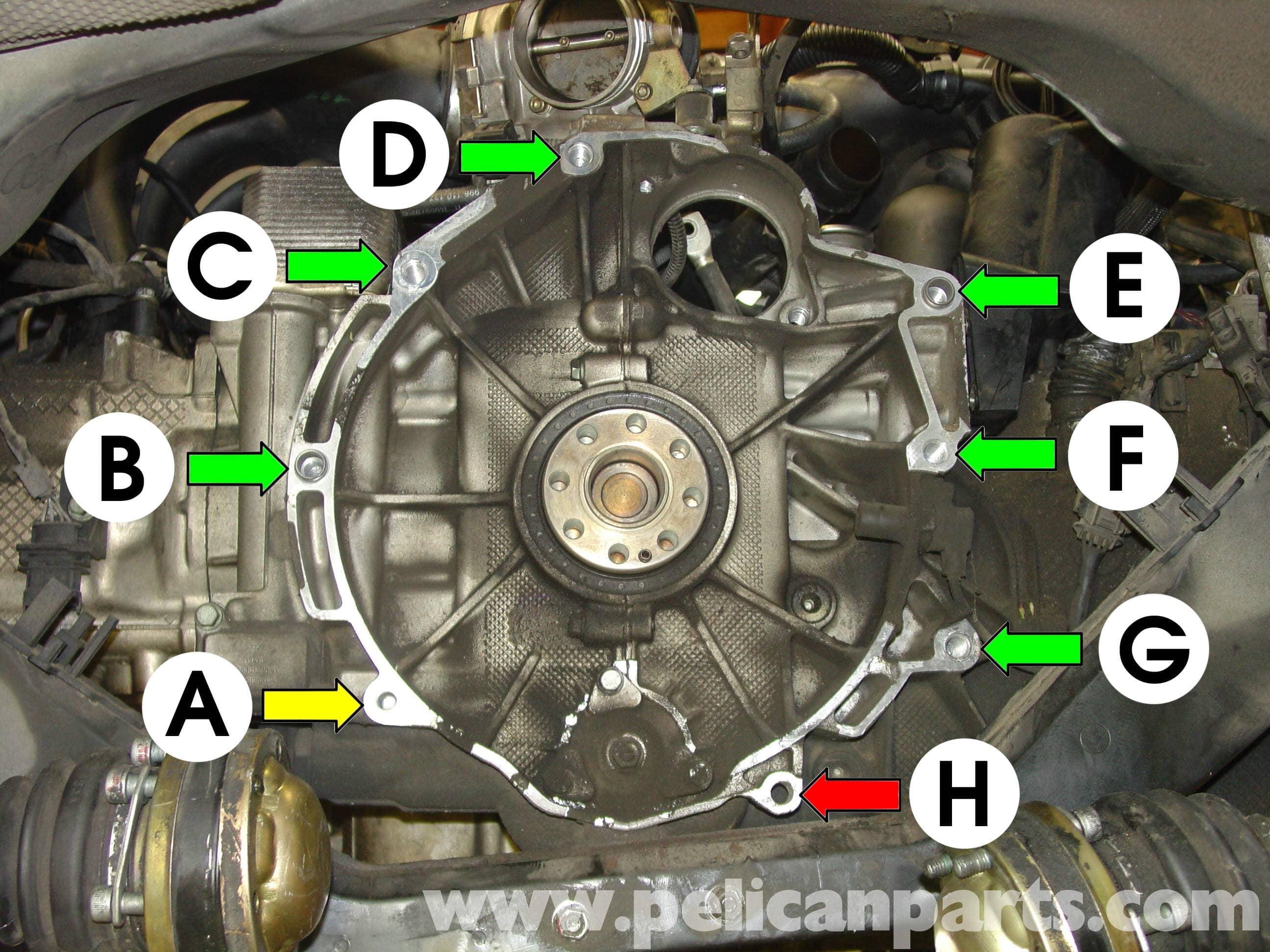 vw engine mount diagram