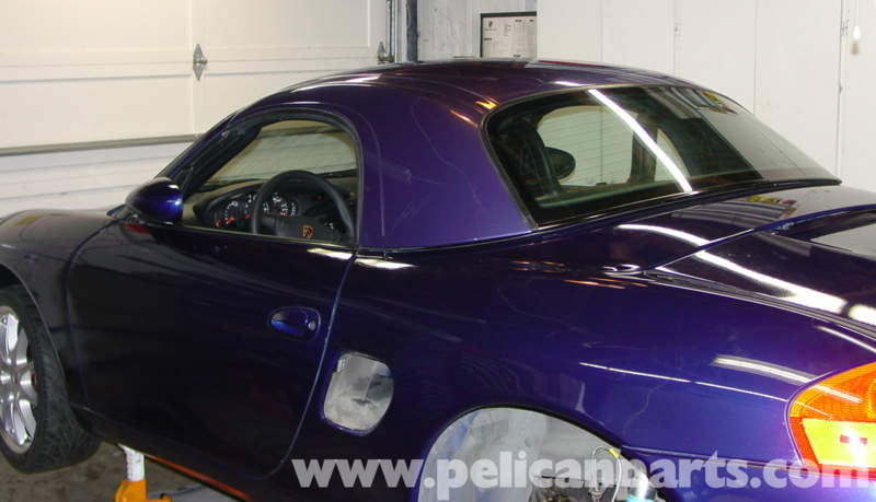 Porsche Boxster Hardtop Installation Kit - 986 / 987 (1997-08