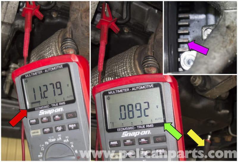 MINI Cooper R56 Crankshaft Position Sensor Testing (2007-2011