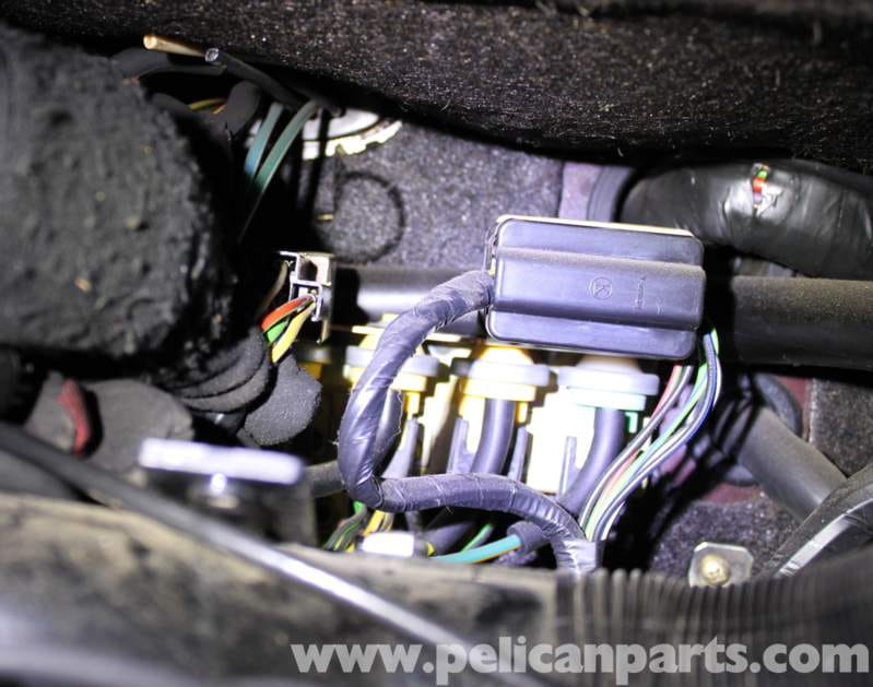 Mercedes-Benz R107 Main Vacuum Switch Replacement 1972-1986