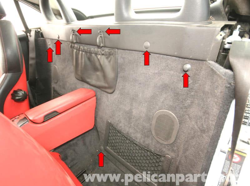 Mercedes Benz Slk 230 Interior Rear Wall Panel Removal