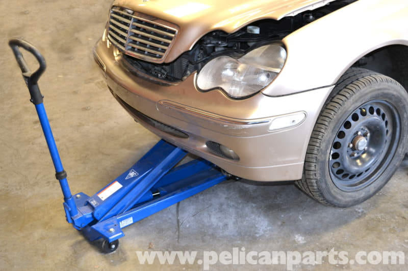 Mercedes-Benz W203 Jacking Up Your Vehicle - (2001-2007) C230, C280
