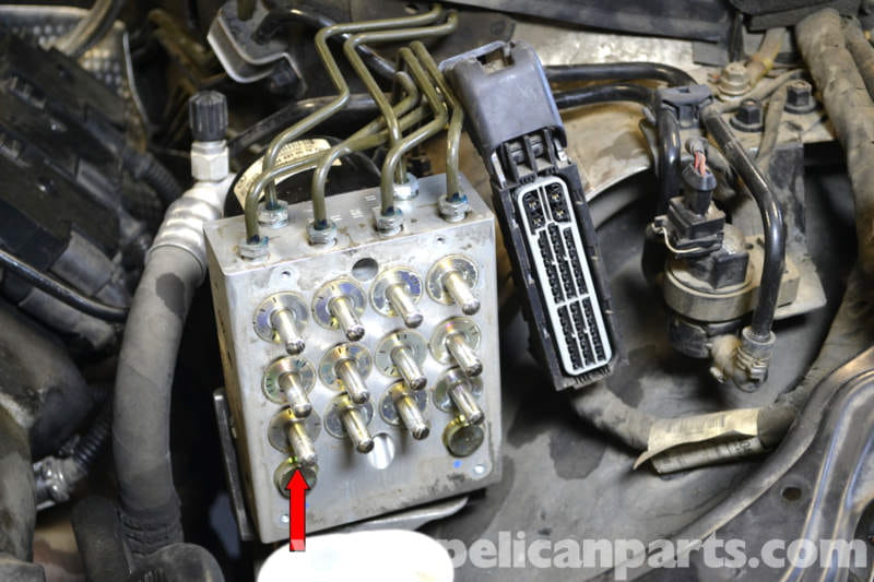 Mercedes-Benz W203 ABS Control Module Replacement - (2001-2007) C230