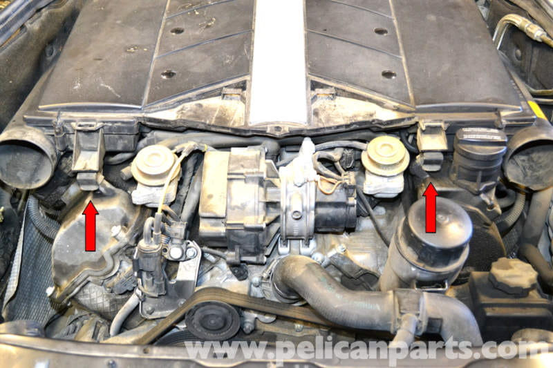 Mercedes-Benz W203 Valve Cover Gasket Replacement - (2001-2007) C230