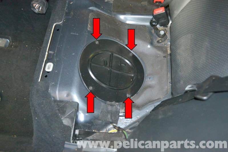 2005 pontiac vibe fuel filter location