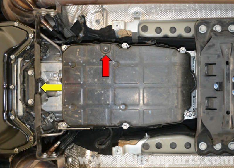 Mercedes-Benz W204 Transmission Fluid and Filter Replacement - (2008