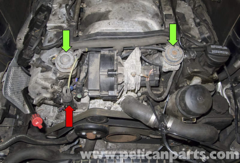 Mercedes-Benz W211 Secondary Air System Component Testing (2003-2009