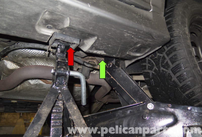 Saab 9 3 Jacking Your Vehicle 2006 2007 Pelican Parts