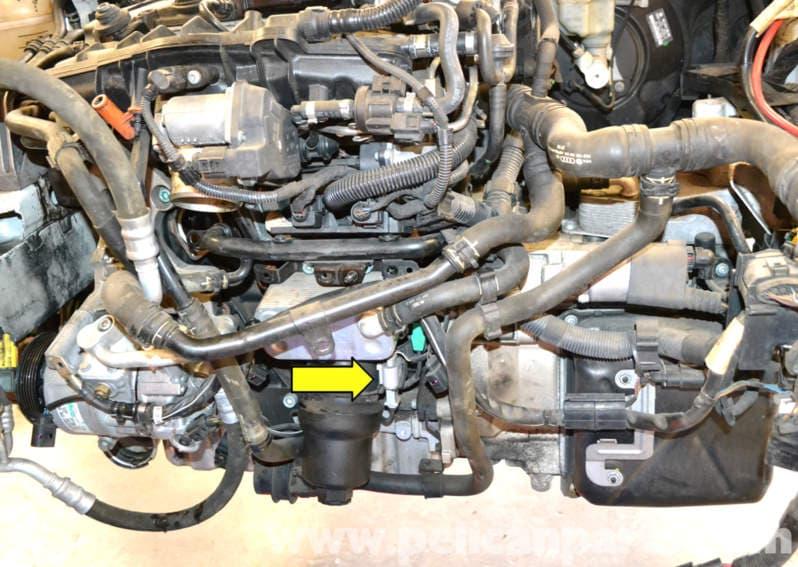 Volkswagen Golf GTI Mk V Crankshaft or Engine Speed Sensor