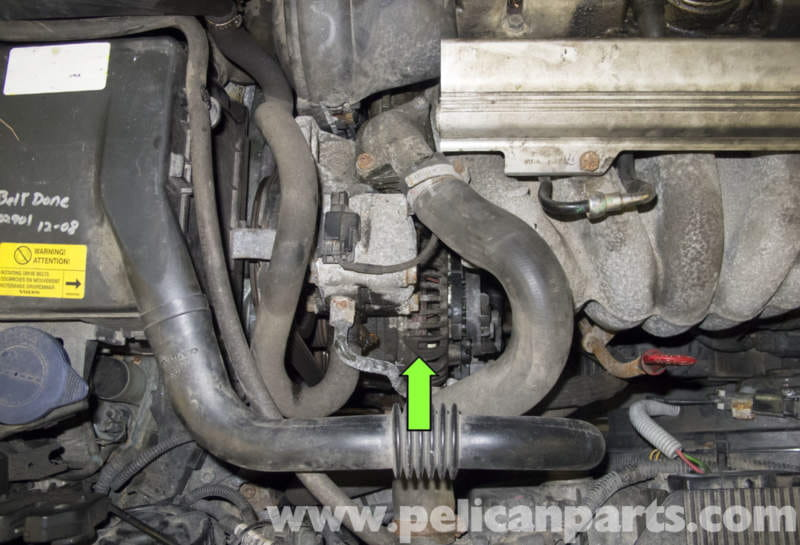 Volvo V70 Alternator Replacement (1998-2007) - Pelican Parts DIY