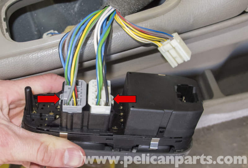Volvo V70 Power Window Switch Replacement (1998-2007) - Pelican