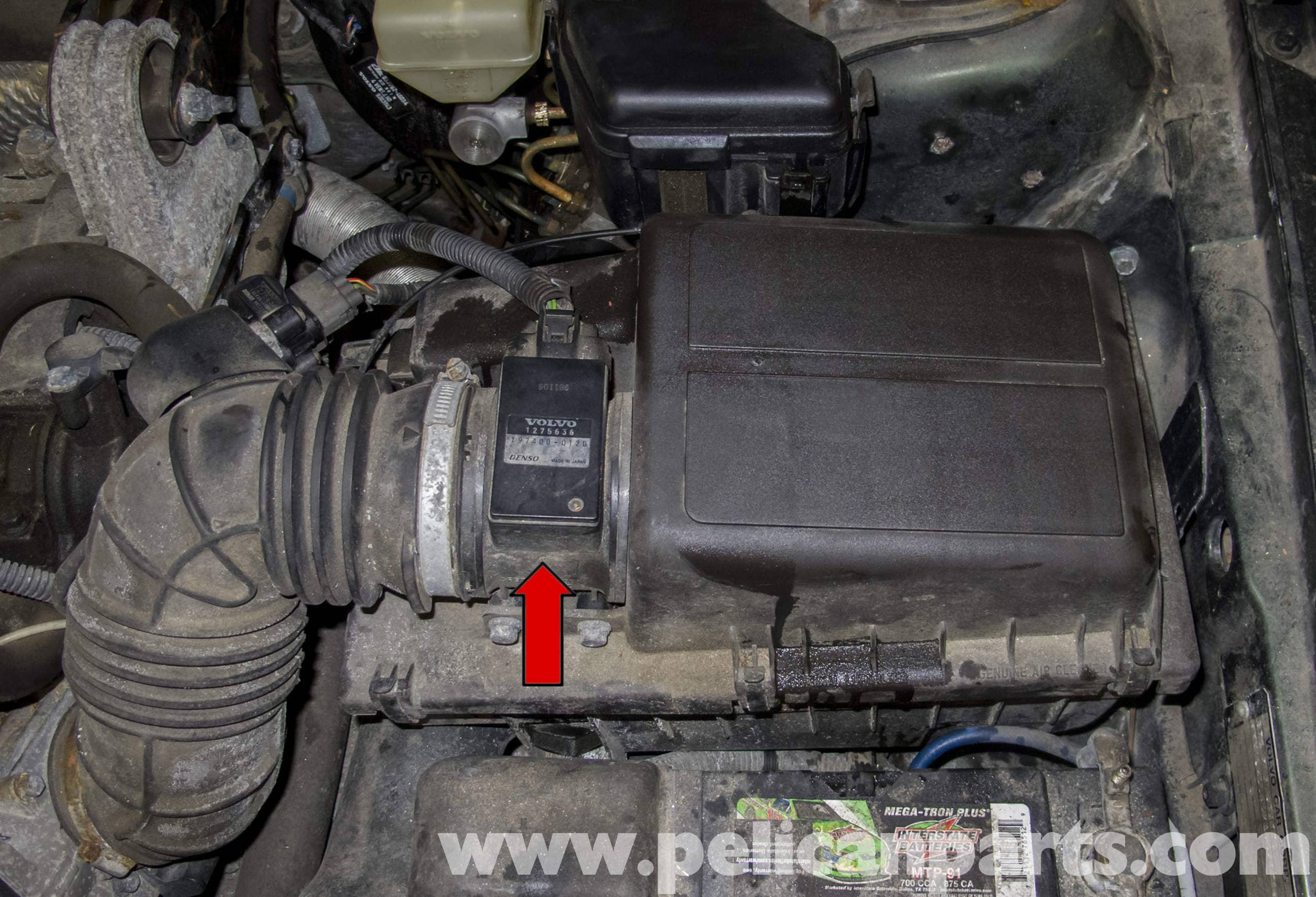 Engine Intake Diagram Auto Electrical Wiring Blower Unit Denso Jeep Cj7 Volvo V70 Management Systems 1998 2007