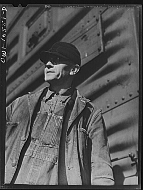 Chicago, Illinois E A Morgan of Harvey, Illinois, freight - frieght conductor