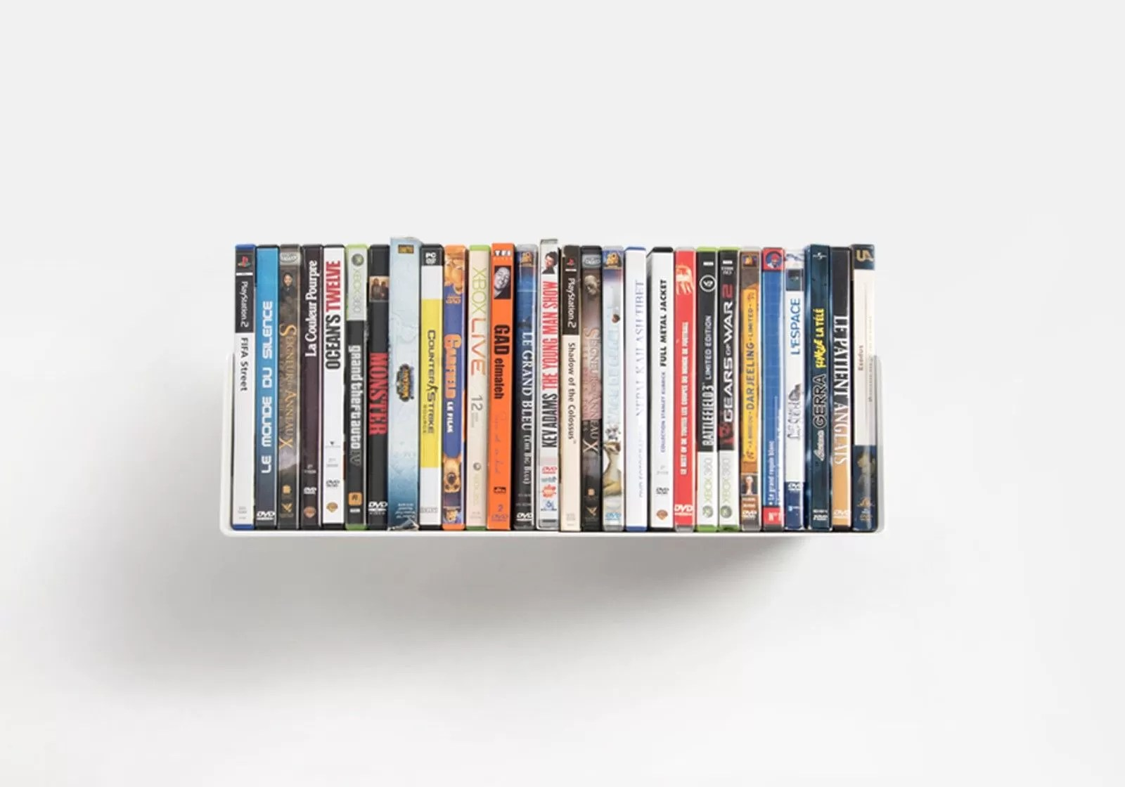 Dvd Wall Storage Dvd Wall Shelf Usdvd 45 Cm