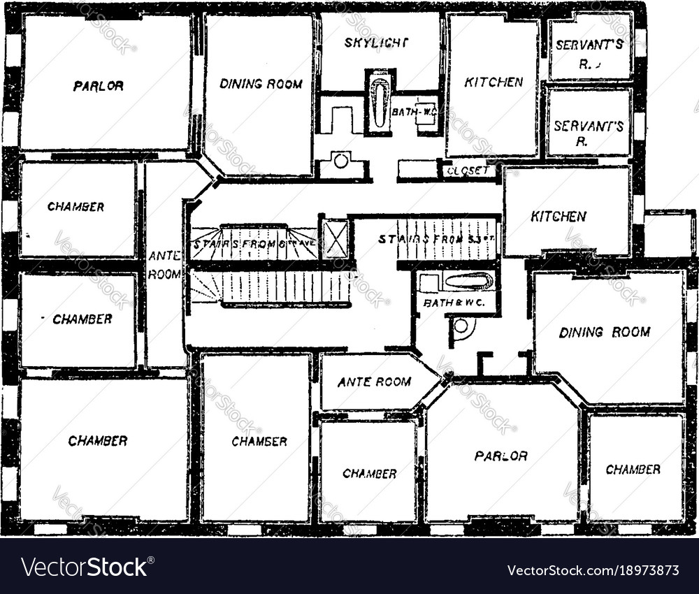 Flat Plan Double Flat Floor Plan Two Bedroom Apartments