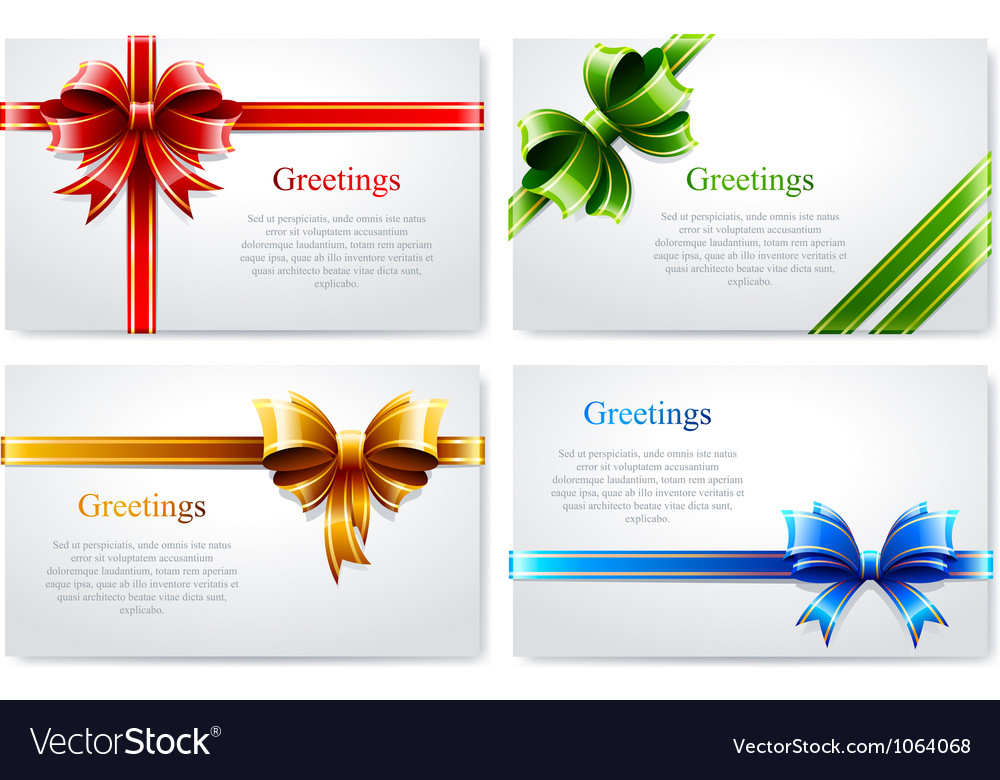 Beautiful business cards Royalty Free Vector Image