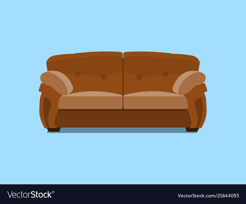 Sofa Vector Free Brown Leather Chester Sofa