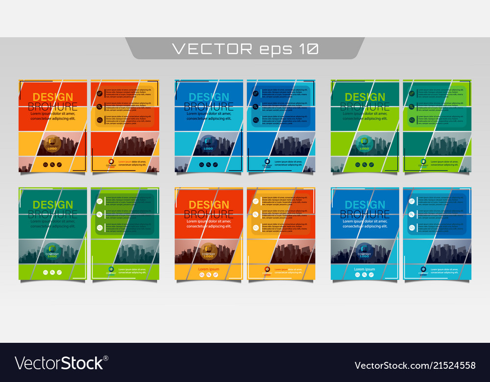 Poster flyer pamphlet Royalty Free Vector Image