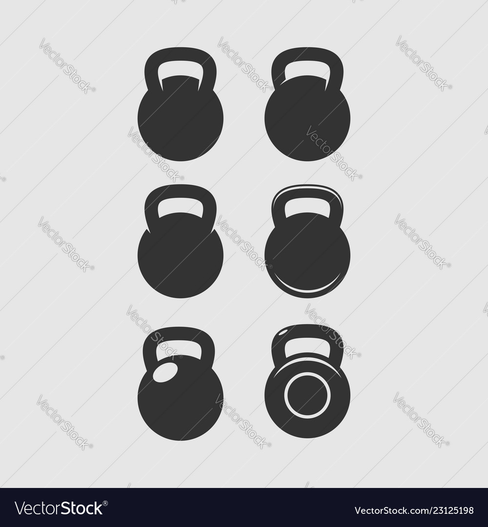 Kettlebell Bodybuilding Kettlebell Icon Sport Fitness Bodybuilding Badge
