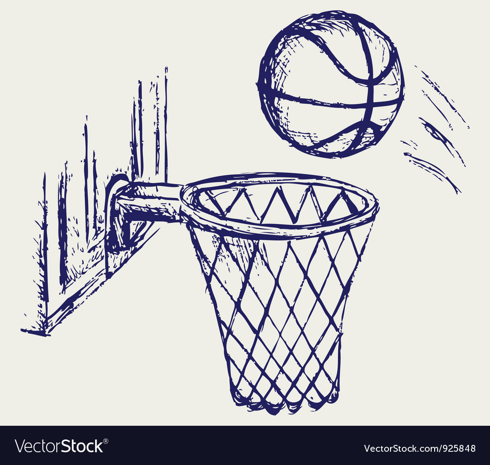 Basketball Ball Basketball Ball Vector Image