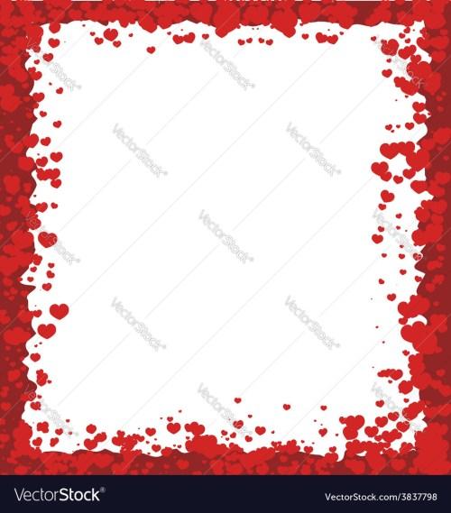 Medium Of Valentines Day Borders