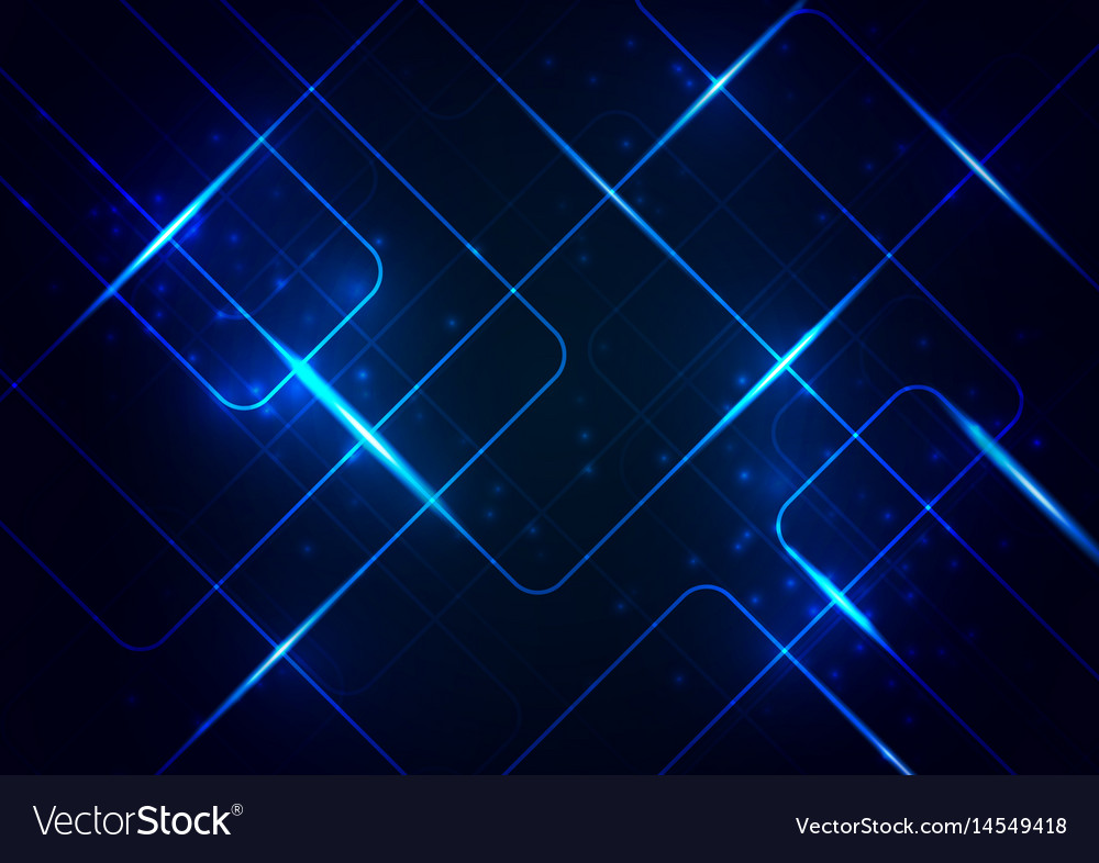 Abstract lines circuit board digital background Vector Image