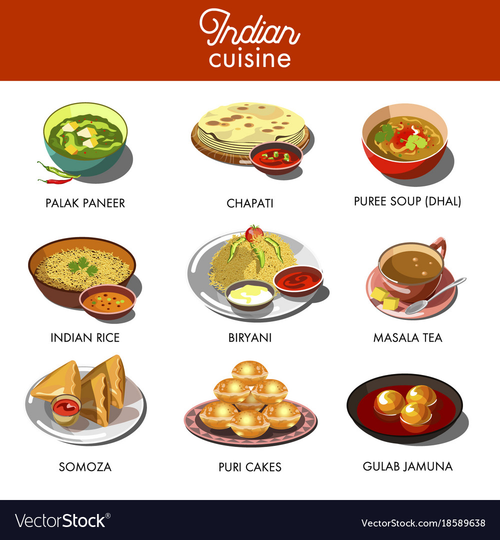 Cuisine India Indian Cuisine Food Traditional Dishes