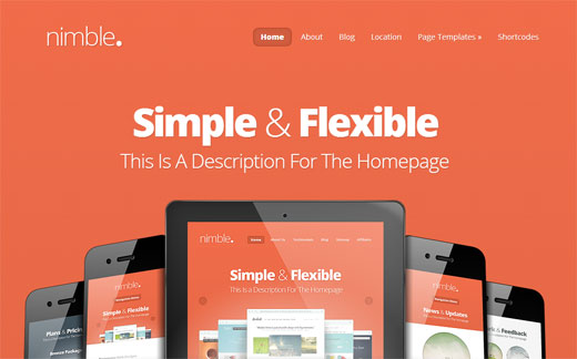 Nimble Theme by ElegantThemes