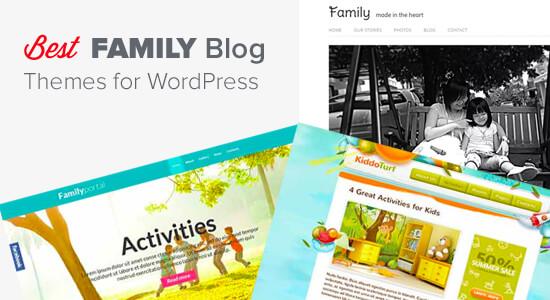 Best Family Blog Themes for WordPress