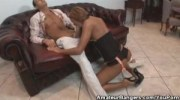 Real Amateur Couples Fucking On The Couch