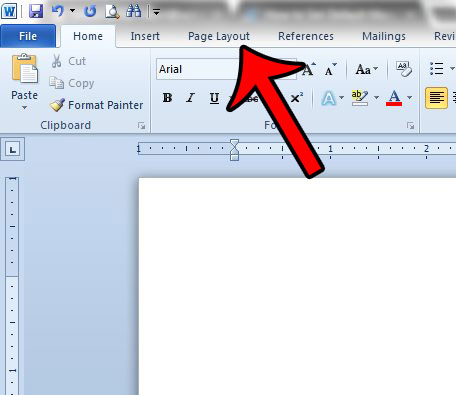 How to Set Up 1 Inch Margins in Word 2010 - Solve Your Tech