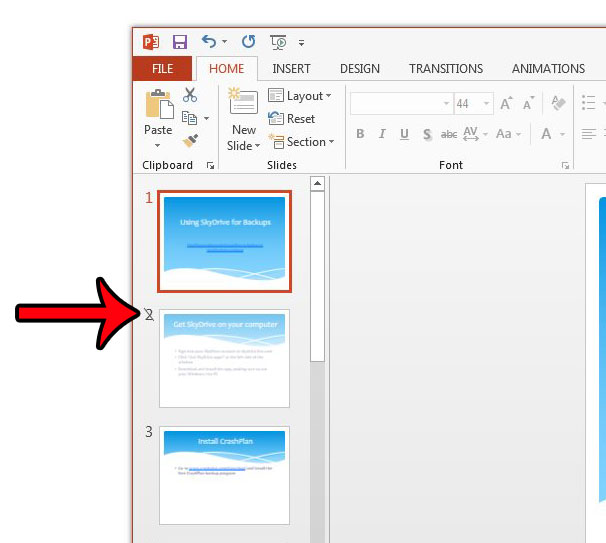 How to Unhide a Slide in Powerpoint 2013 - Solve Your Tech
