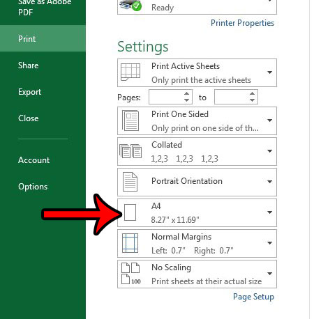 How to Print an Excel Spreadsheet on A4 Paper - Solve Your Tech