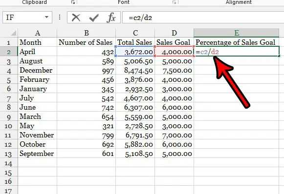 How to Use a Percentage Formula in Excel 2013 - Solve Your Tech