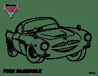 Disegno di Cars 2 - Finn McMissile da Colorare - acolore.com
