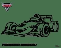 Disegno di Cars 2 - Francesco Bernoulli da Colorare ...