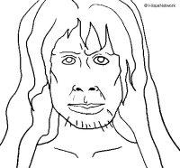 Disegno di Homo Sapiens da Colorare - Acolore.com