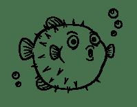 6 Disegni Pesce Palla Da Colorare Per Bambini
