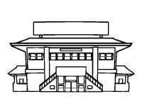 Disegno di Scuola secondaria da Colorare - Acolore.com
