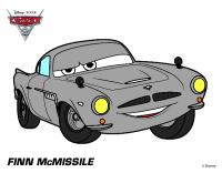 Disegno Cars 2 - Finn McMissile colorato da Carl il 18 di ...