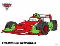 Disegno Cars 2 - Francesco Bernoulli colorato da Utente ...