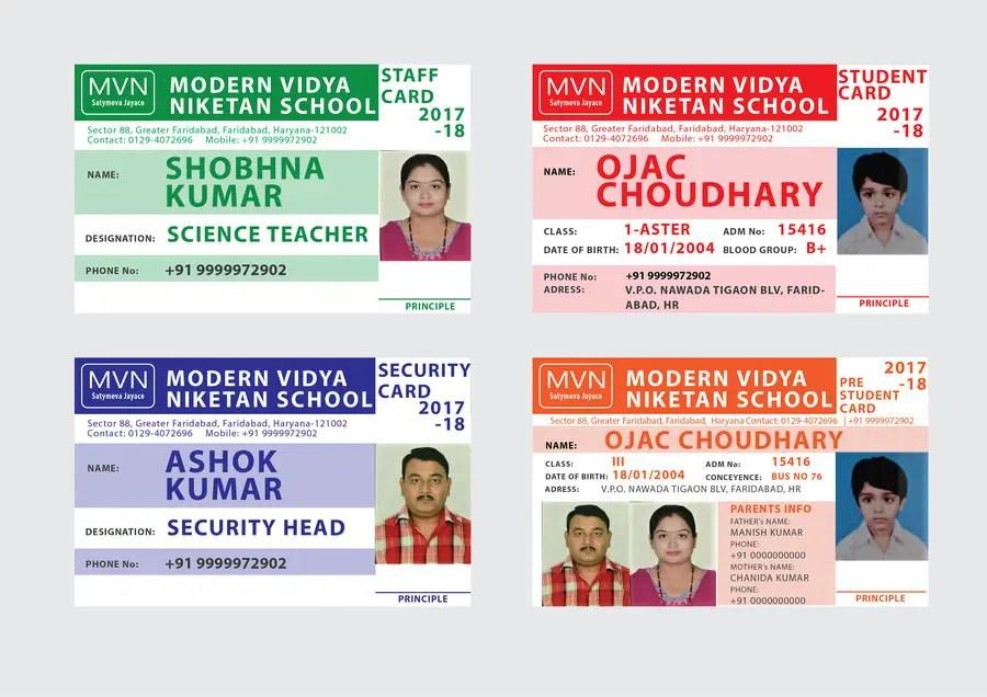 Entry #28 by nikolchevamaryna for School Id card design-Student