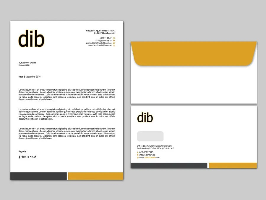 Entry #9 by kushum7070 for Design our software company letterhead - letterhead and envelope design
