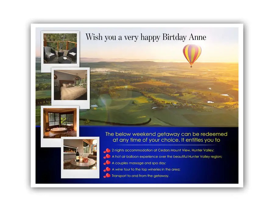 Entry #48 by naveen14198600 for Make a birthday gift voucher
