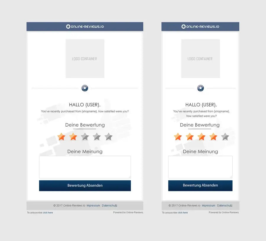 Entry #10 by chancalkmr for UI Design - Rebuild our Review