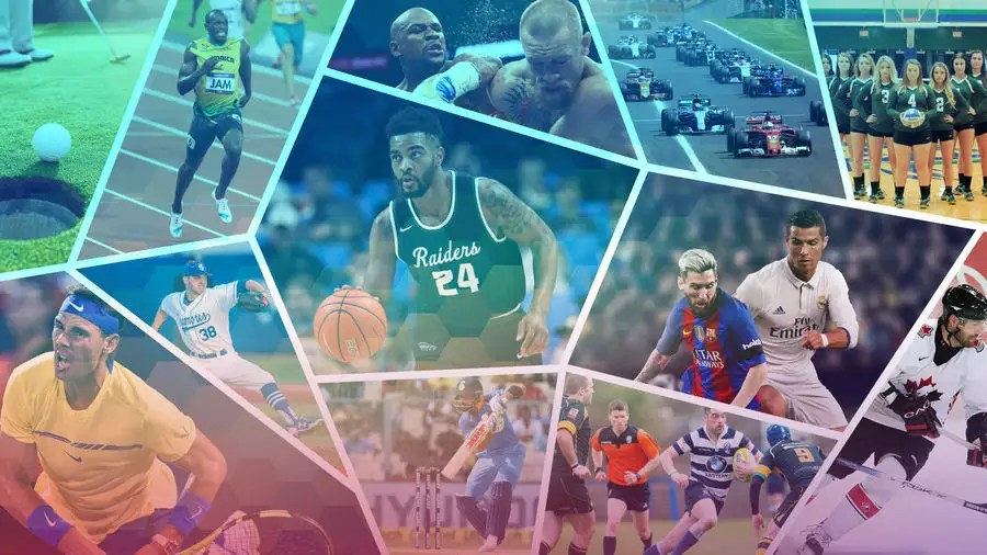 Entry #8 by CreativeWolf33 for picture collage of many sports for